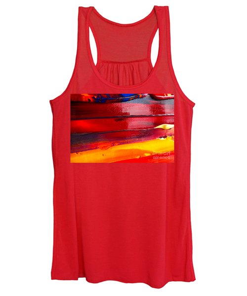 Wet Paint 123 Women's Tank Top