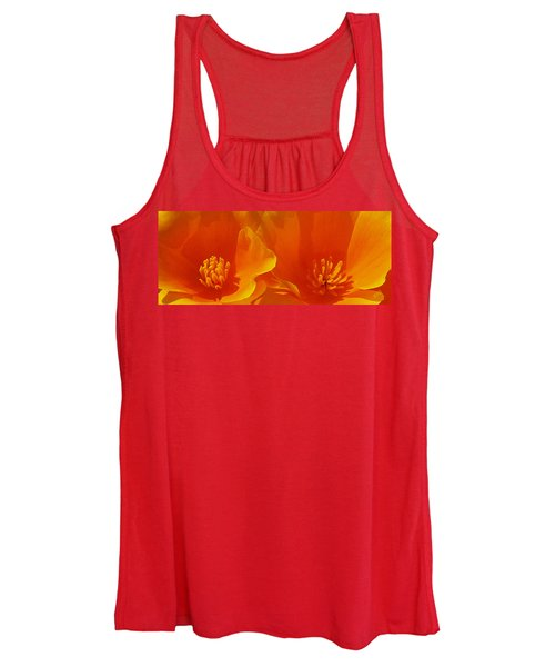 Wild Poppies Women's Tank Top