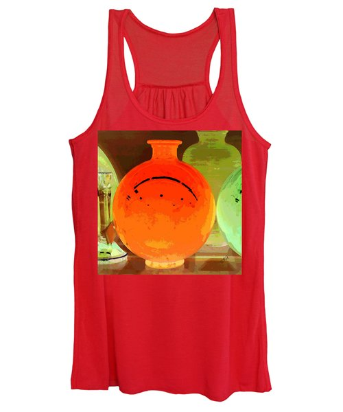 Window Shopping For Glass Women's Tank Top