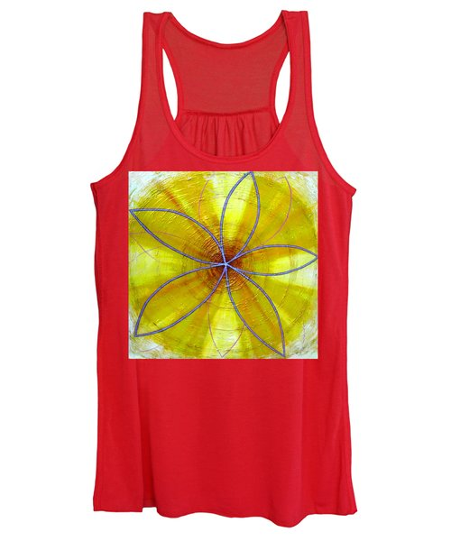 Yellow Chakra Women's Tank Top