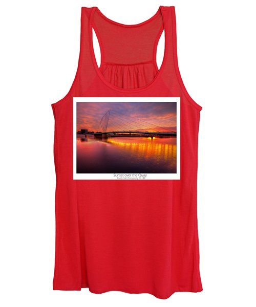 Sunset Over The Quay Women's Tank Top