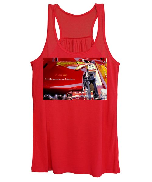 1955 Chevy Bel Air Custom Women's Tank Top