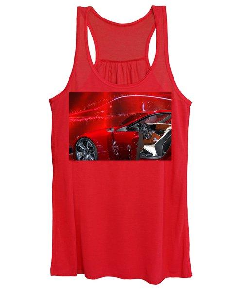 2013 Lexus L F - L C Women's Tank Top