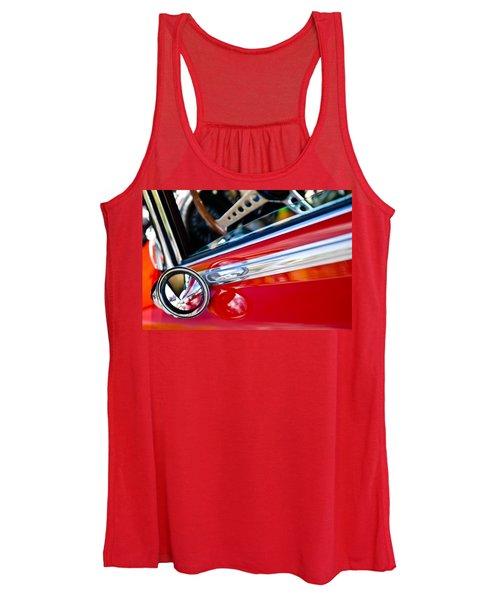 Classic Red Car Artwork Women's Tank Top