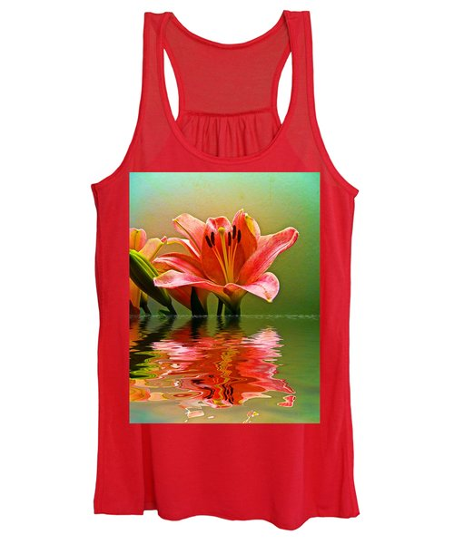 Flooded Lily Women's Tank Top