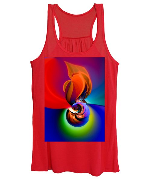 Siphonophoric Colony Women's Tank Top