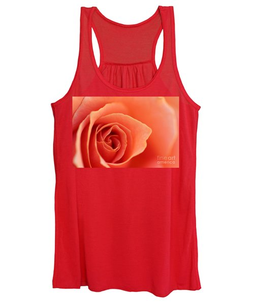 Soft Rose Petals Women's Tank Top