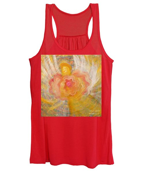 Flower Angel Women's Tank Top