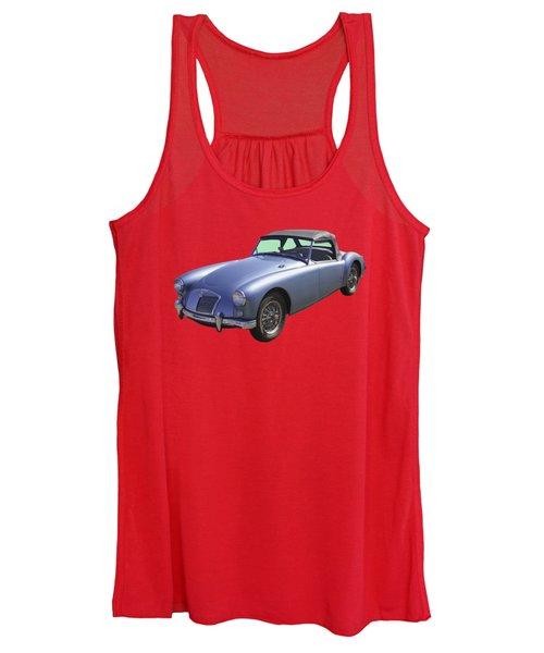 Mg Convertible Sports Car Women's Tank Top
