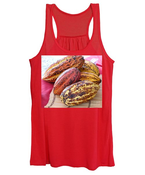 A Pile Of Cacao Pods Women's Tank Top