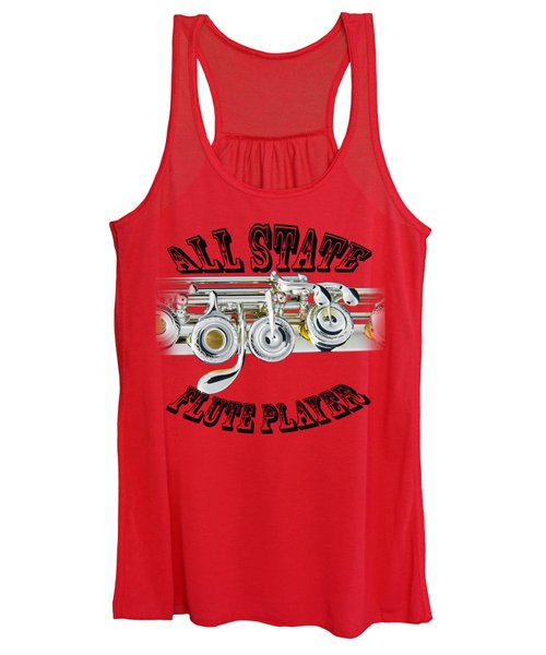 All State Flute Player Women's Tank Top