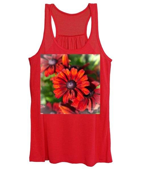 Autumn Flowers Women's Tank Top