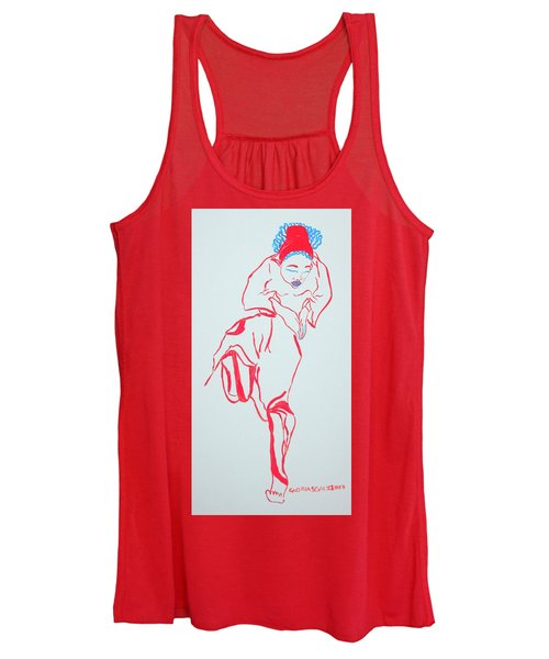 Cameroon Ngone Traditional Dance Women's Tank Top