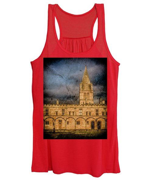 Oxford, England - Christ Church College Women's Tank Top
