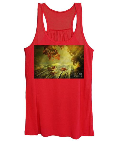 Fallen Leaves Women's Tank Top
