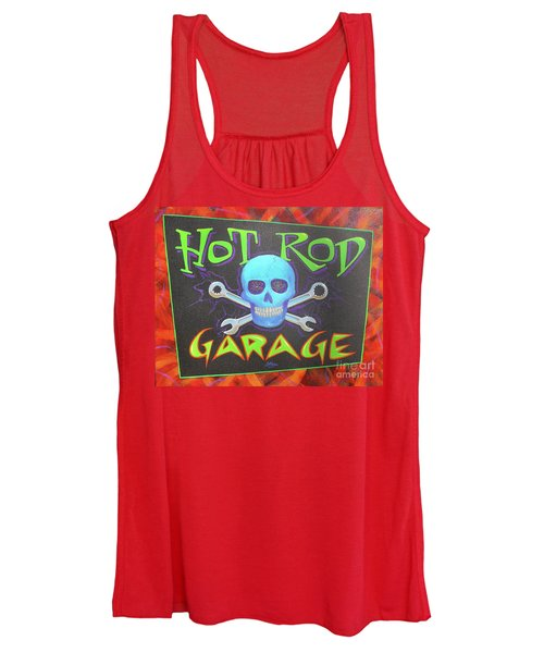 Hot Rod Garage Women's Tank Top
