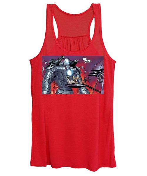Iron Man Women's Tank Top