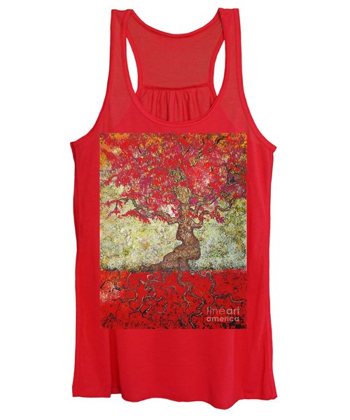 Lady In Red Women's Tank Top