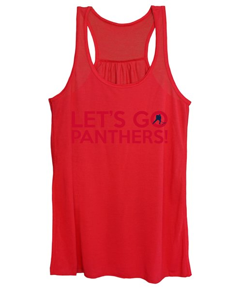 Let's Go Panthers Women's Tank Top