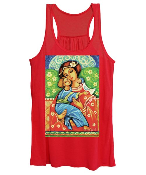 Madonna And Child Women's Tank Top