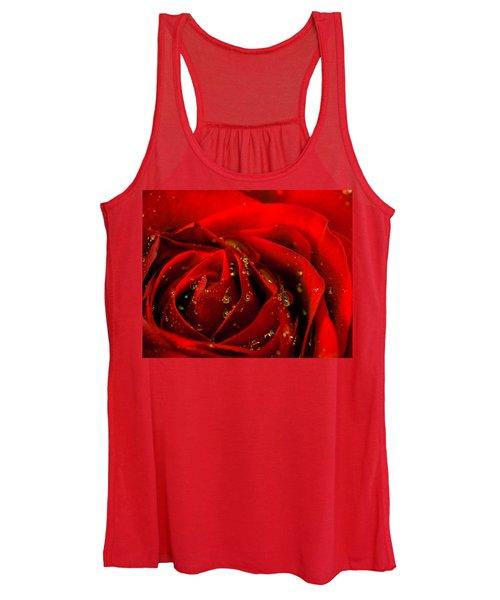 Red Rose 2 Women's Tank Top