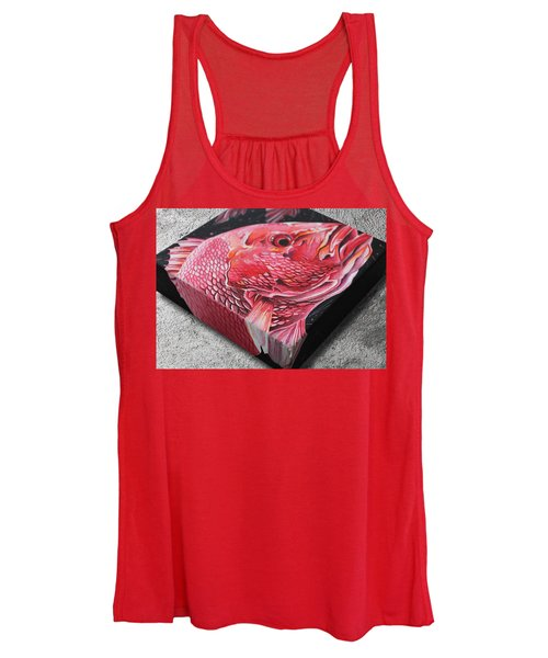 Red Snapper Women's Tank Top