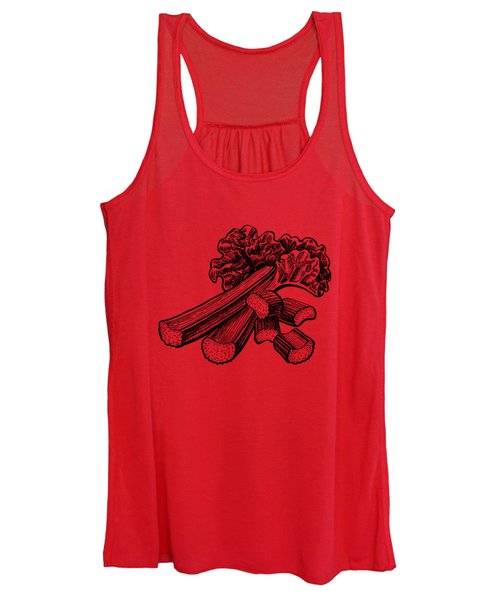 Rhubarb Stalks Women's Tank Top