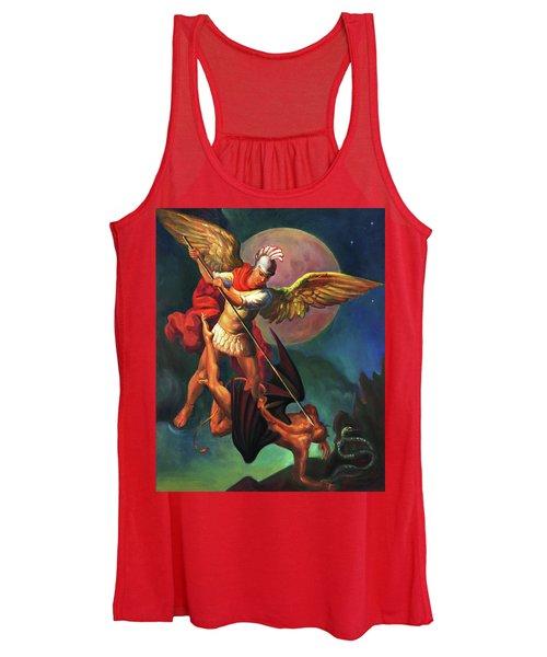 Saint Michael The Warrior Archangel Women's Tank Top