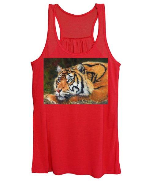 Sumatran Tiger  Women's Tank Top