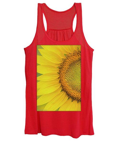 Sunflower Petals Women's Tank Top