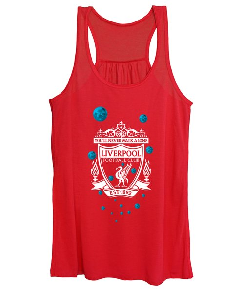 Tribute To Liverpool 4 Women's Tank Top