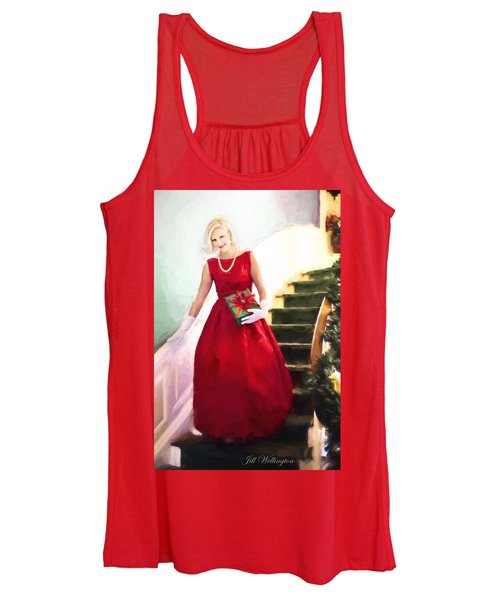Vintage Val Home For The Holidays Women's Tank Top