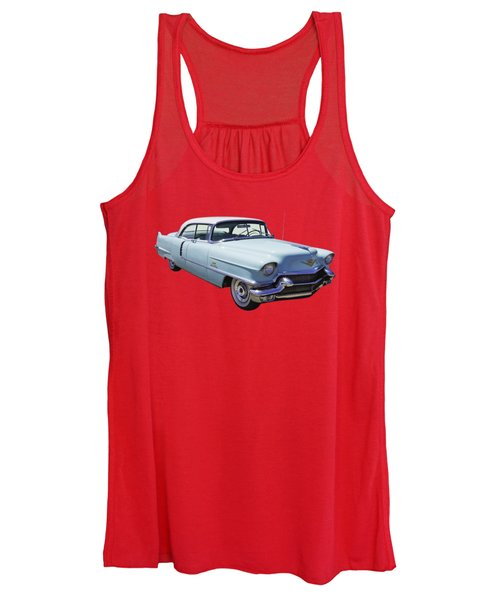 1956 Sedan Deville Cadillac Luxury Car Women's Tank Top