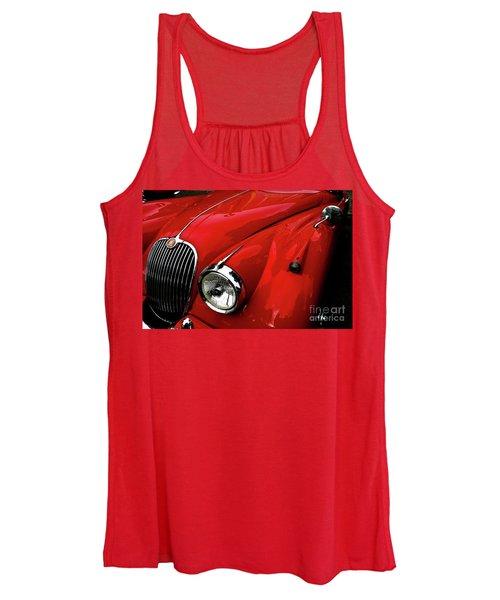 Red Jaguar Women's Tank Top