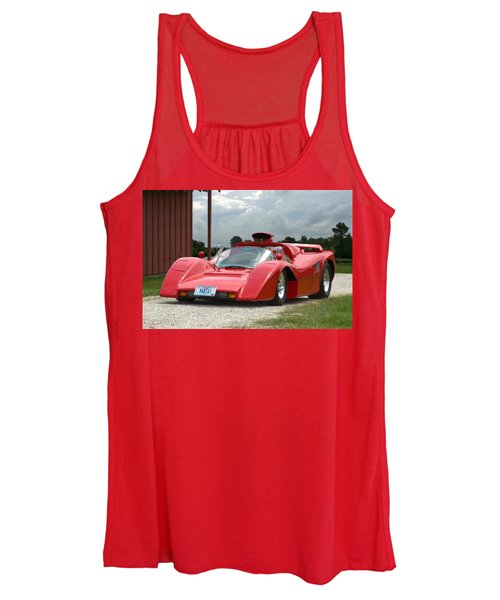 1974 Manta Mirage With Buick 215 Cubic Inch V8 Women's Tank Top
