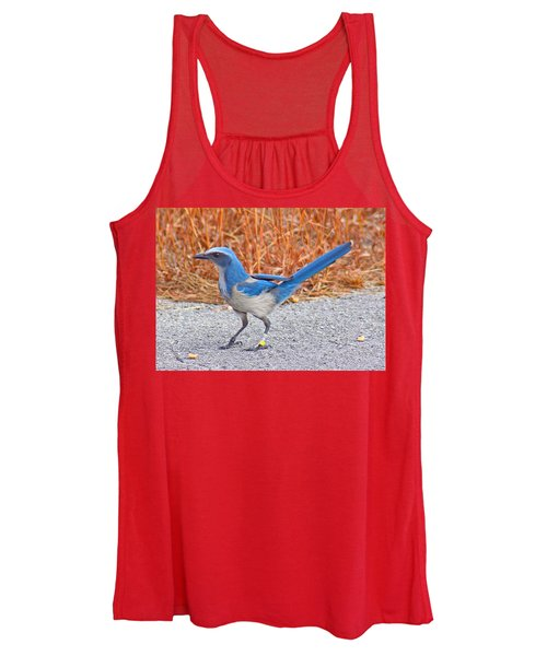 Florida Scrub Jay Women's Tank Top