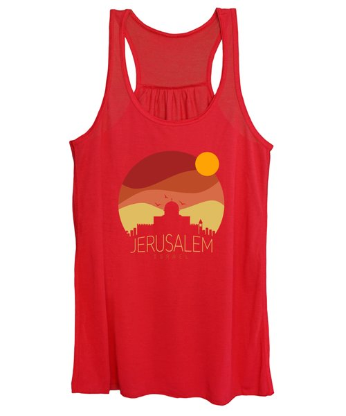 Israel  Women's Tank Top
