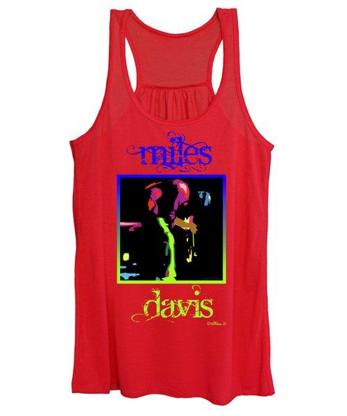 Miles Davis Women's Tank Top