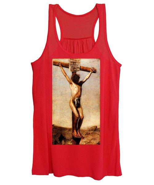The Crucifixion Women's Tank Top