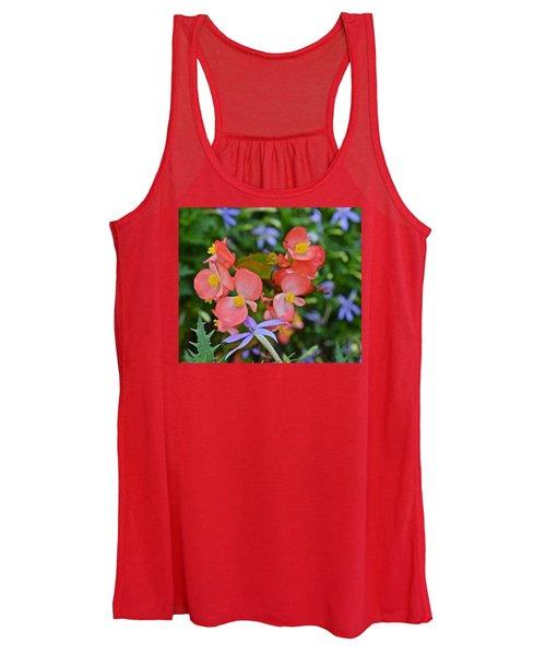 2015 Mid September At The Garden Begonias 2 Women's Tank Top