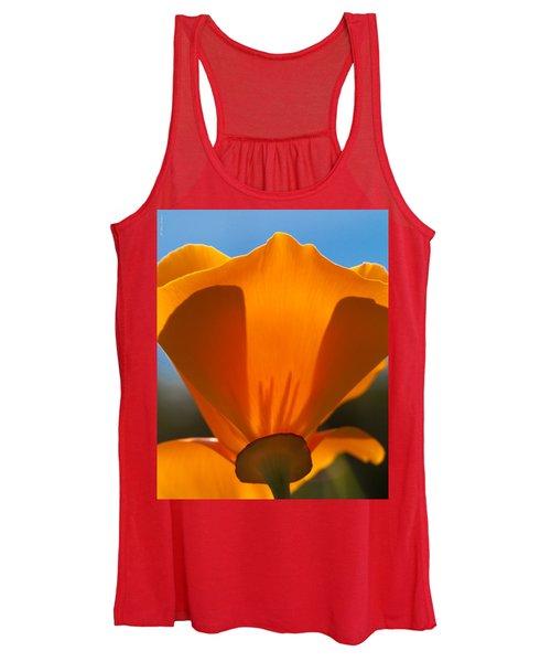 Californian Poppies Women's Tank Top