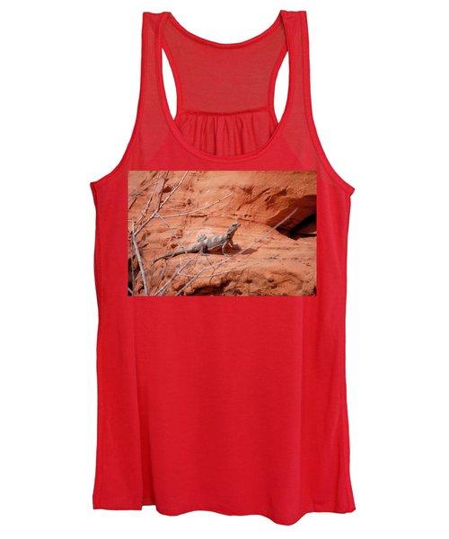 Chuckwalla, Sauromalus Ater Women's Tank Top