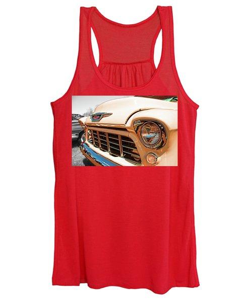 '55 Chevy 3100 Women's Tank Top