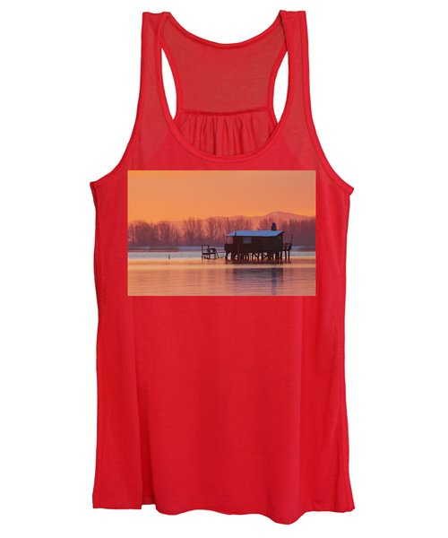 A Hut On The Water Women's Tank Top