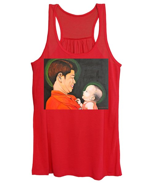 A Moment With Dad Women's Tank Top