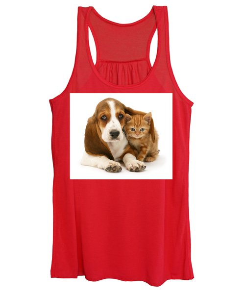 A New Meaning To Cat Flap Women's Tank Top