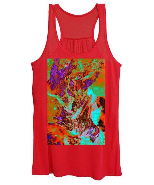 A Splash Of Color In The Weeds Women's Tank Top