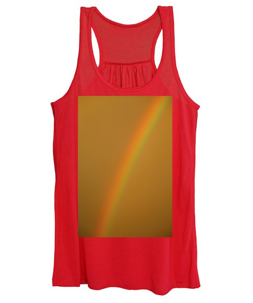 A Sunset Rainbow Women's Tank Top