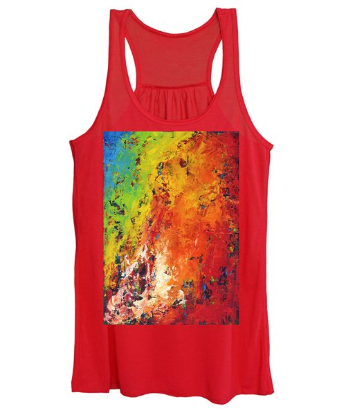 Abstract Land Women's Tank Top