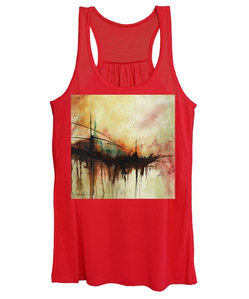 Abstract Painting Contemporary Art Women's Tank Top